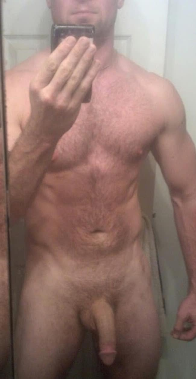 Nude Man With Soft Penis