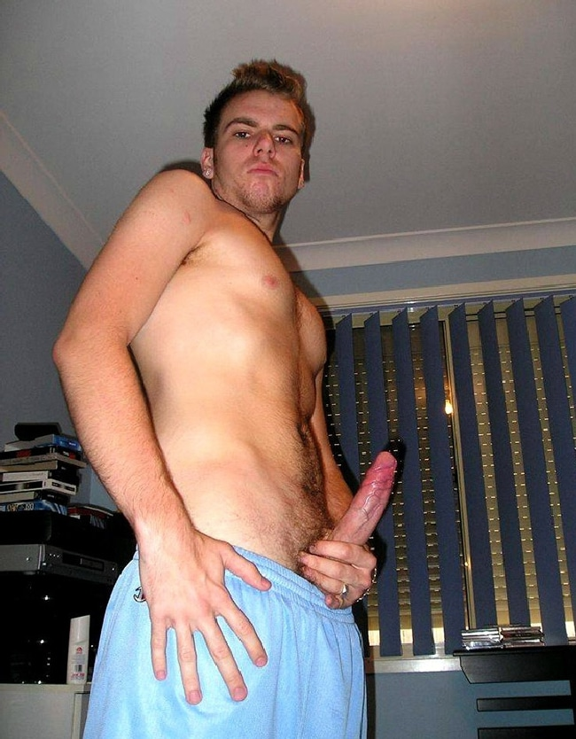 Sexy Dude Showing Off His Big Penis
