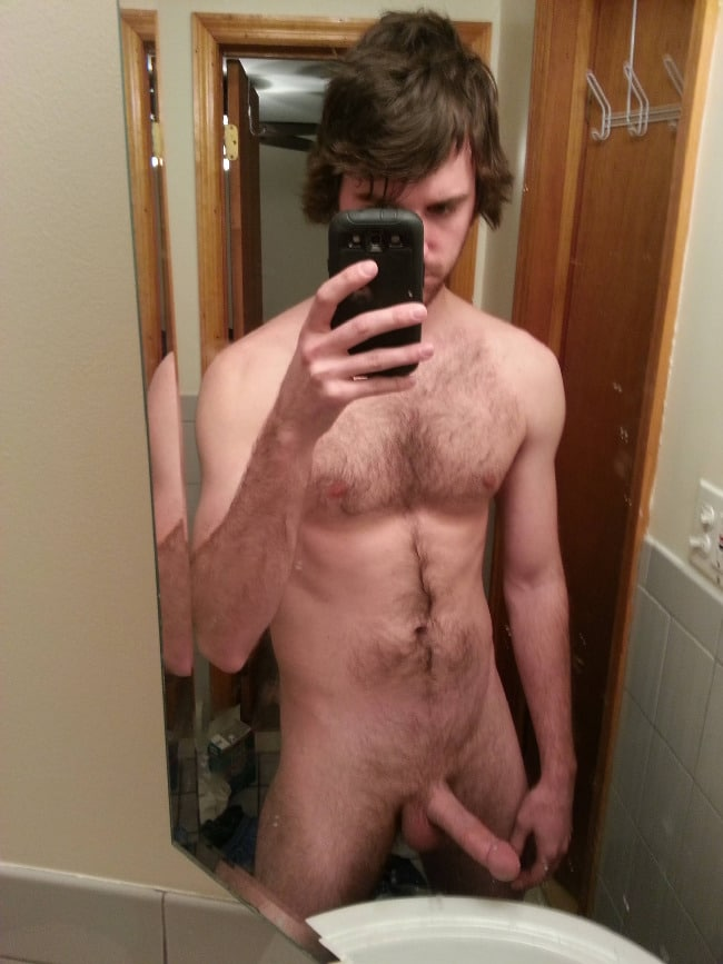 Nude Guy Hard Cock