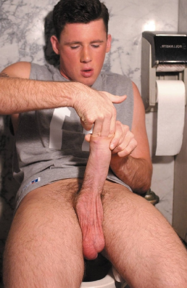 My cock in his foreskin