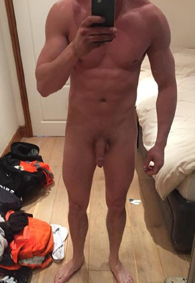Nude Man Soft Cock