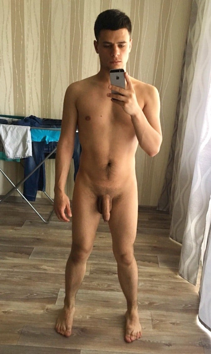 Naked self picture boy